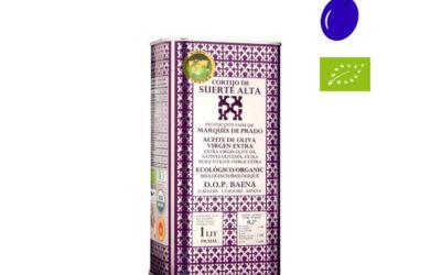 Huile d'olive picual en envero de Cortijo de Suerte Alta, une huile d'olive exclusive